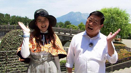 鹿児島テレビ「わがまま!気まま!旅気分! タマリと薩摩こんしぇるじゅのおじゃったもんせ鹿児島!」さんに 出演させて頂きました。