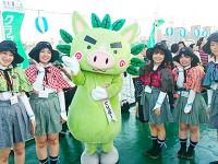 「2015桜島火の島祭り 船上貸切花火大会」のクルーズ船におもてなしガイドとして参加してまいりました!