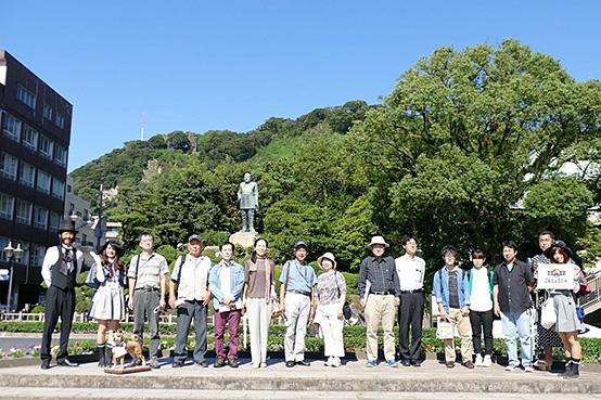薩摩義士顕彰会10/4イベントにてオプショナルツアー「薩摩こんしぇるじゅ。とまち歩き」を開催させていただきました。