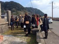「松野下かまぼこ様 社員旅行」で仙巌園をご案内させて頂きました。